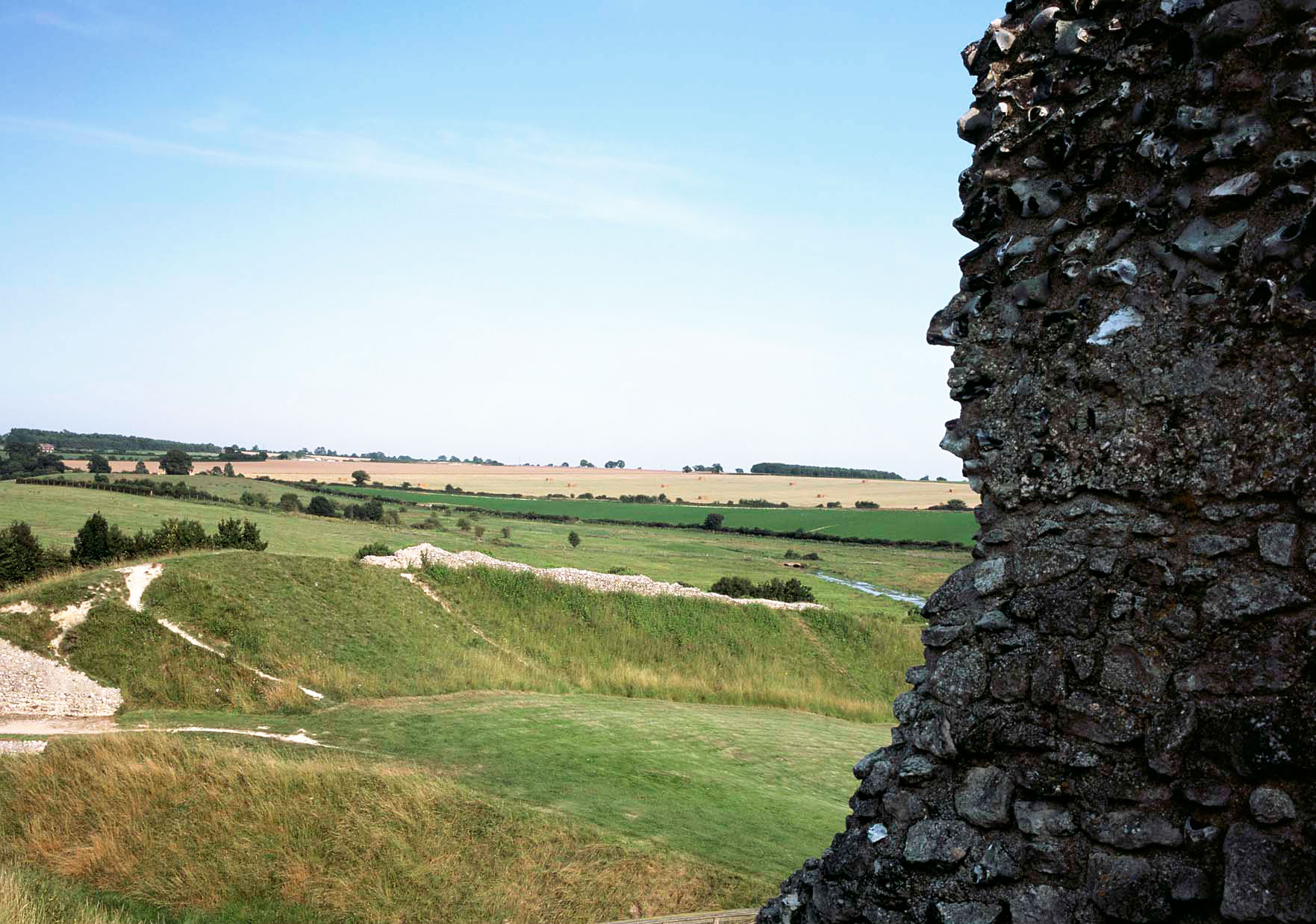 Peddars Way at Castle Acre (picture by Andy Tryner, courtesy of Natural England / National Trails)